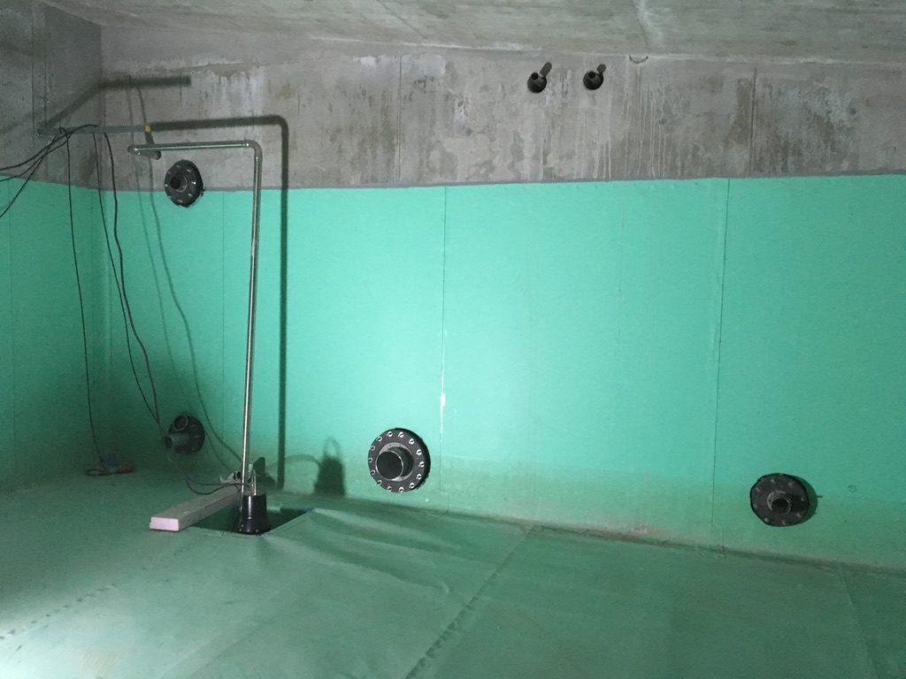Vodotěsné prostupy